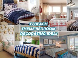 35 Fascinating Beach Theme Bedroom Decorating Ideas