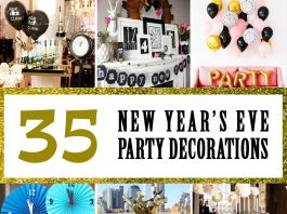 35 New Years Eve Party Decorations