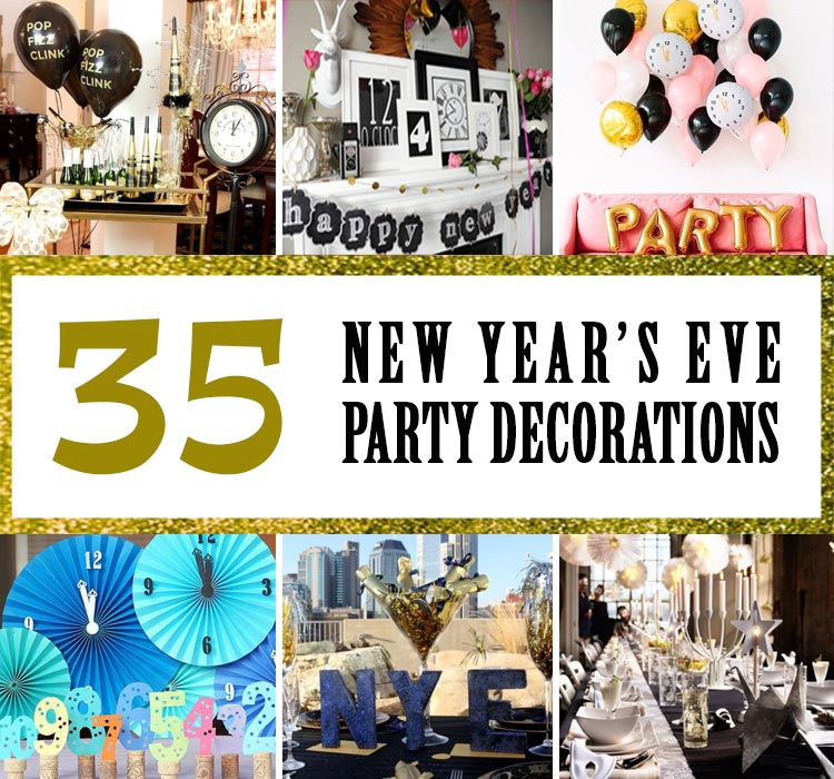 35 New Years Eve Party Decorations For Family Gatherings