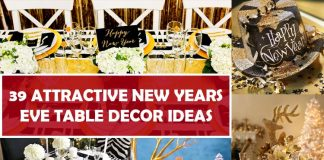 39 Attractive New Years Eve Table Decor Ideas