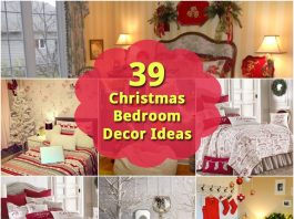 39 Christmas Bedroom Decor Ideas