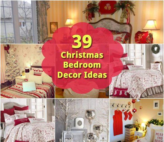 39 Christmas Bedroom Decor Ideas
