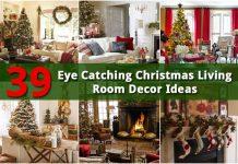 39 Christmas Living Room Decor Ideas