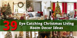 39 Christmas Living Room Decor Ideas