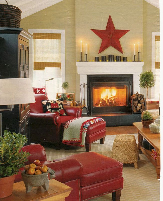 Christmas Living Room