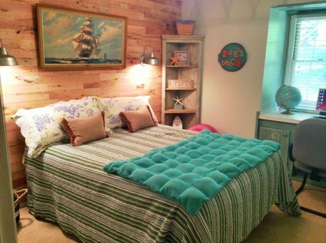 Cosy Beach Bedroom Decor