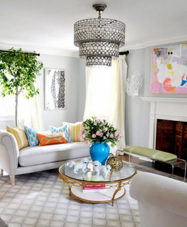 White Couches Living Room Ideas