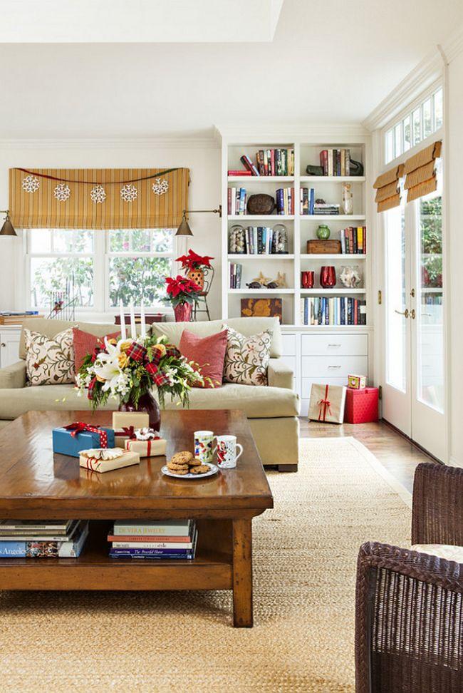 39 Eye Catching Christmas Living Room Decor Ideas Homeoholic