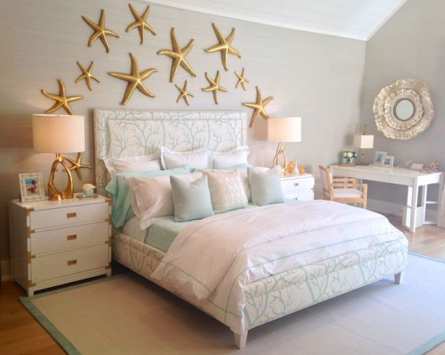 35 Fascinating Beach Theme Bedroom Decorating Ideas | Homeoholic