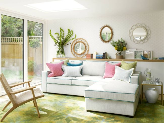 White Sofa Living Room Decorating Ideas