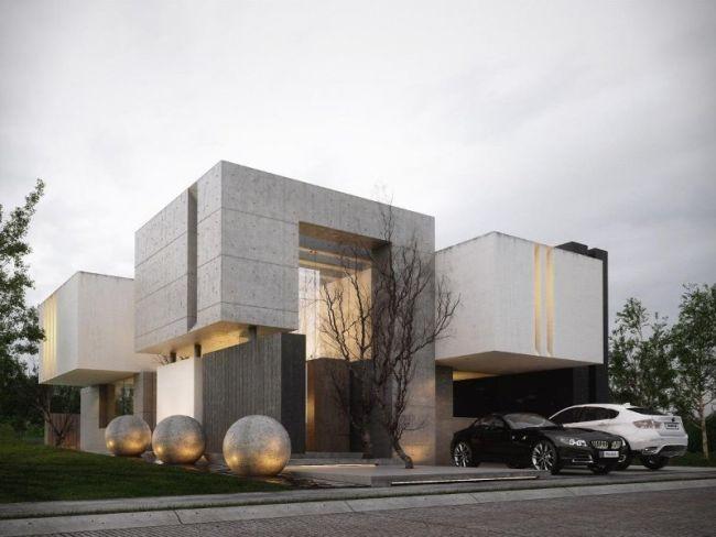 45 Fascinating Modern Home Exterior Ideas | Homeoholic