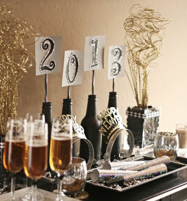 New Years Eve Table Decor
