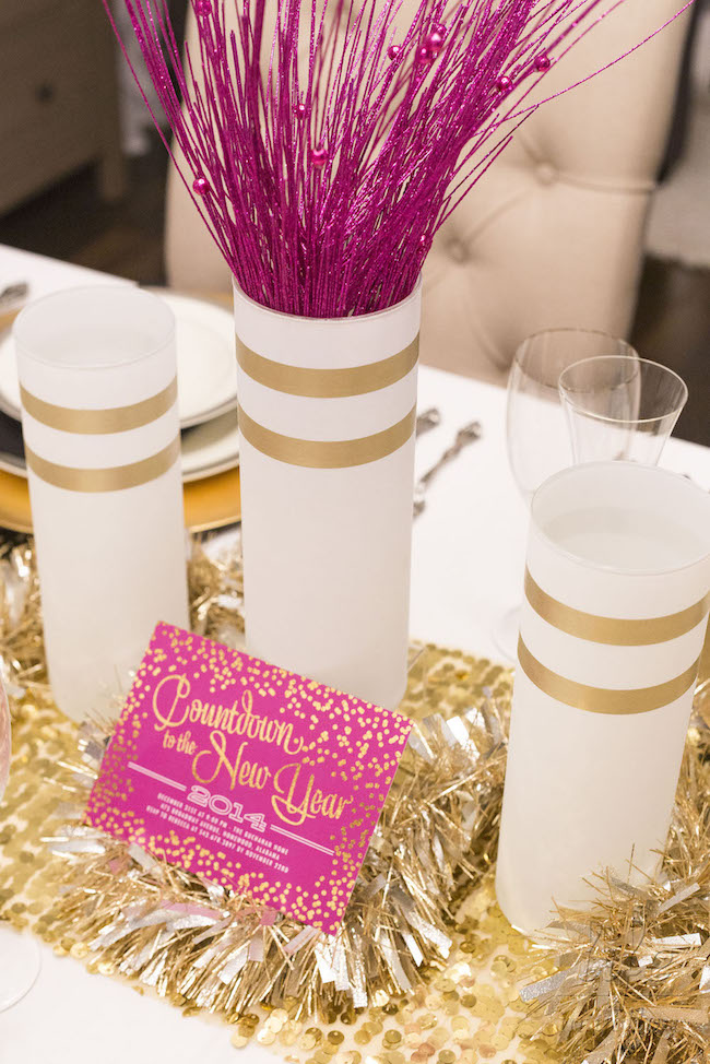 New Years Eve Centerpieces