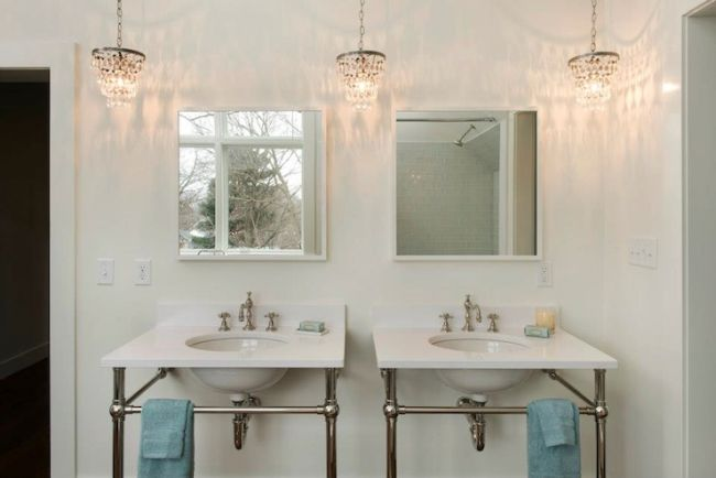 Small Bathroom Chandelier