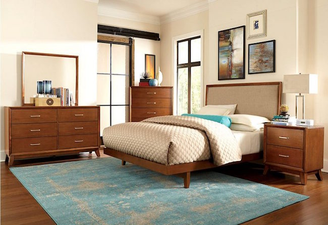 Bedroom area rug ideas