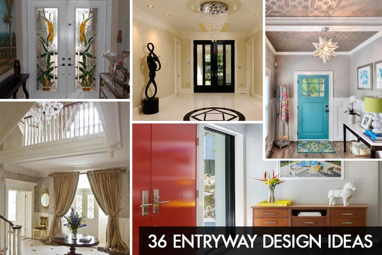 Entryway Design Ideas - 36 Ways to Enhance an Entryway | Homeoholic