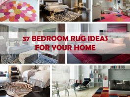 37 Impressive Bedroom Rug Ideas