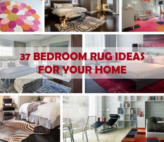 37 Impressive Bedroom Rug Ideas