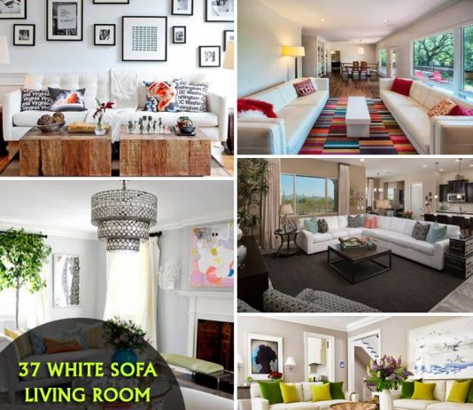 37 Elegant White Sofa Living Room Decorating Ideas