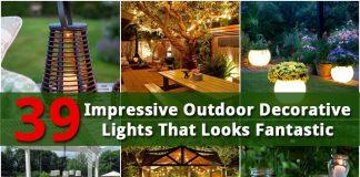 39 Impressive Outdoor Decorative Lights