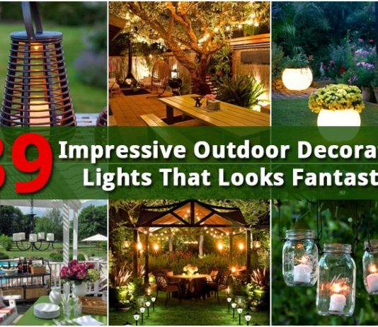 39 Impressive Outdoor Decorative Lights