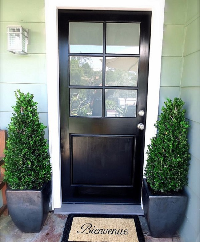 Front Door Topiary: Front Door Planter Ideas : 36 Plants For Front Door