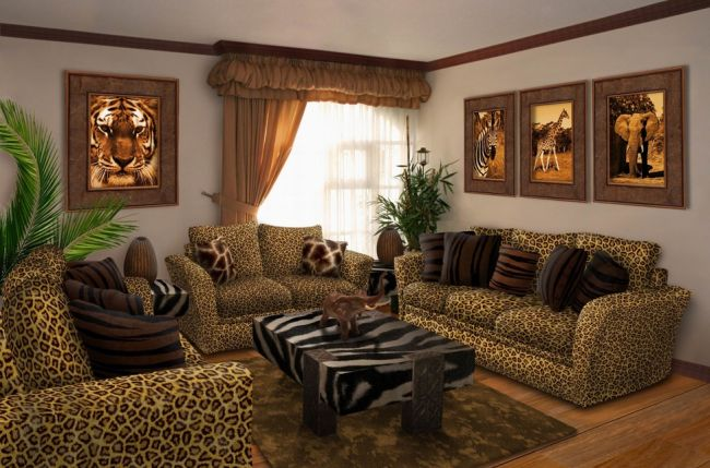 35 Elegant Animal Print Furniture Ideas For Living Room Homeoholic Rh Com