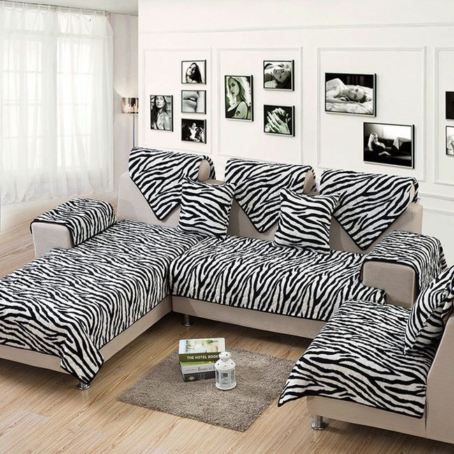 Zebra Print Sofa Zebra Couch Animal Print Couches Sofa