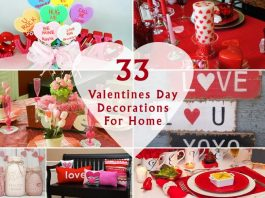 33 Amazing Valentines Day Decorations For Home