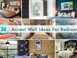 36 Stylish Accent Wall Ideas For Bedroom