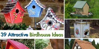 39 Attractive Birdhouse Ideas