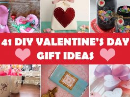41 DIY Romantic Valentine's Day Gift Ideas