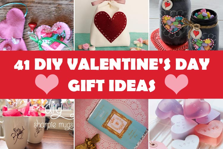 41 Diy Romantic Valentines Day Gift Ideas Homeoholic