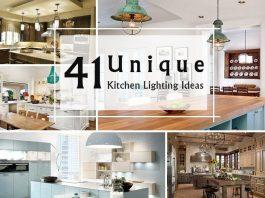 41 Unique Kitchen Lighting Ideas