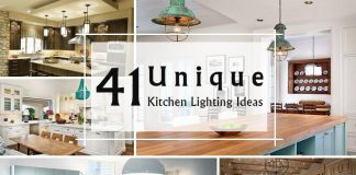 41 Unique Kitchen Lighting Ideas