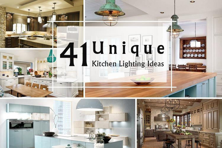 Lovely Unique Kitchen Lighting