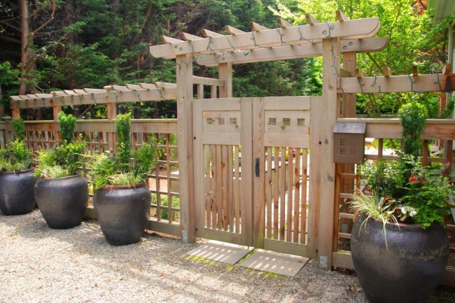Decorative Wooden Fence