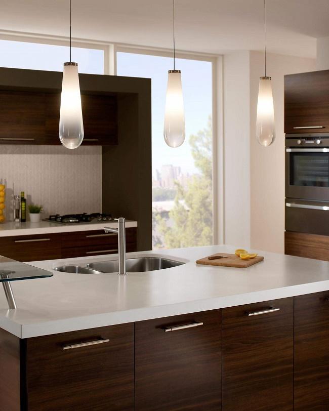 Modern Designed Kitchen Task Lighting