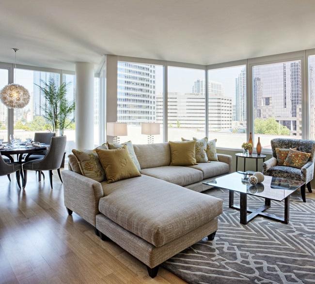 Spacious Living Room: 33 Modern Condo Interior Design Ideas
