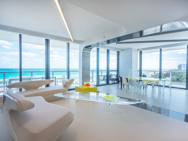 Stunning Modern Beachside Condo In Miami