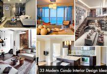 33 Modern Condo Interior Design Ideas