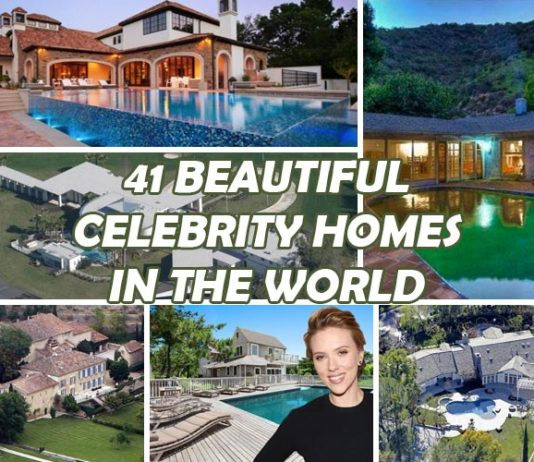 41 Most Beautiful Celebrity Homes