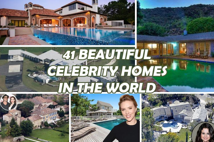 Most Beautiful Celebrity Homes