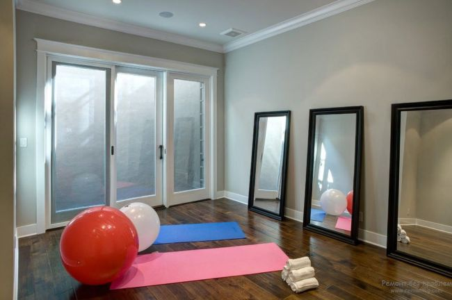 Home Gym Mirror Ideas