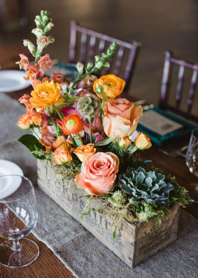 Dining Table Flower Arrangements