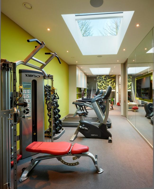 Home Gym Design Ideas: 41 Amazing Home Gym Design Ideas 2018