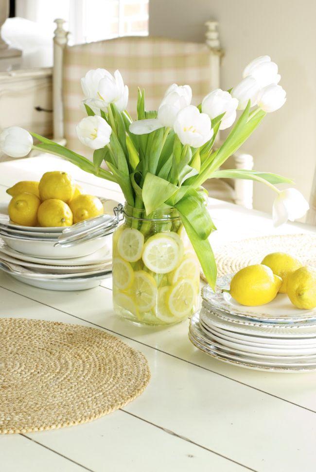 Dining Table Flower Arrangements,