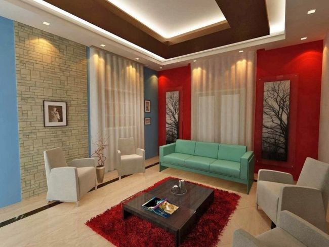 Small Living Room Ceiling Designs