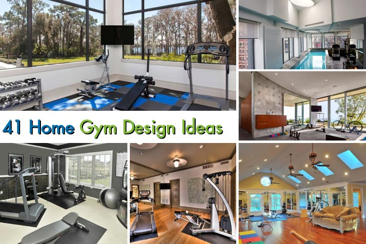 41 Amazing Home Gym Design Ideas 2018 | Homeoholic