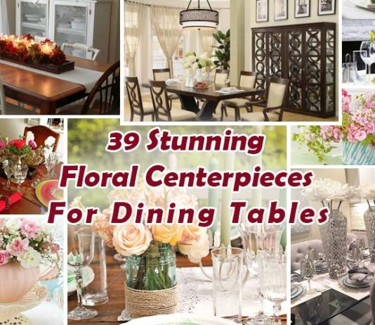 Floral Centerpieces For Dining Tables